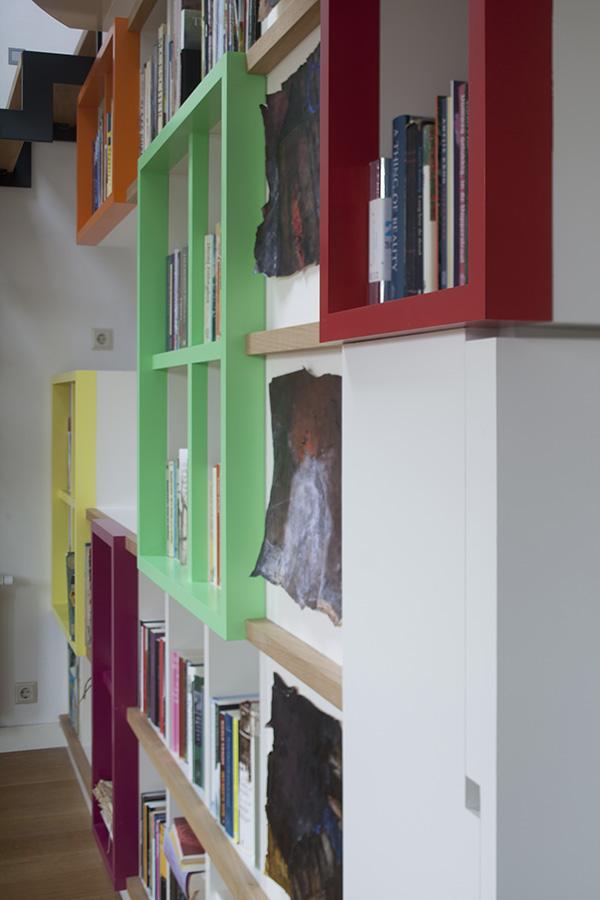ir. Schelto Doyer Architect | Boekenkast En Bureau Eengezinshuis Houten