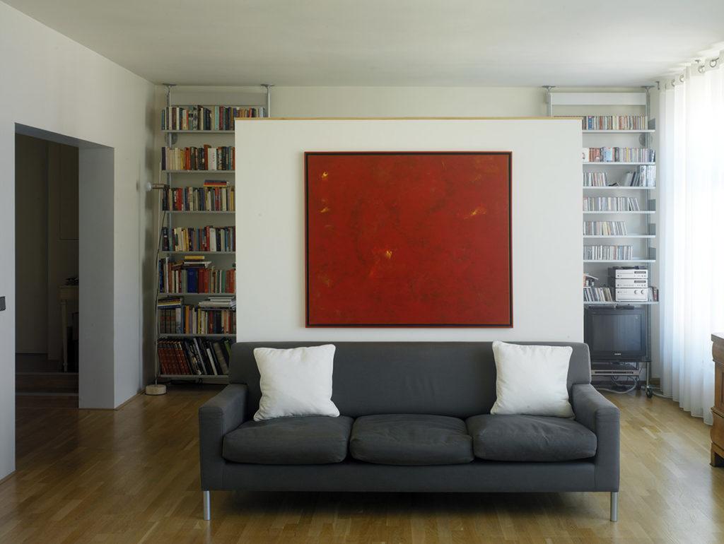 ir. Schelto Doyer Architect | Ontwerp En Uitvoering Werkruimte en Werkplek Voor Appartement Amsterdam