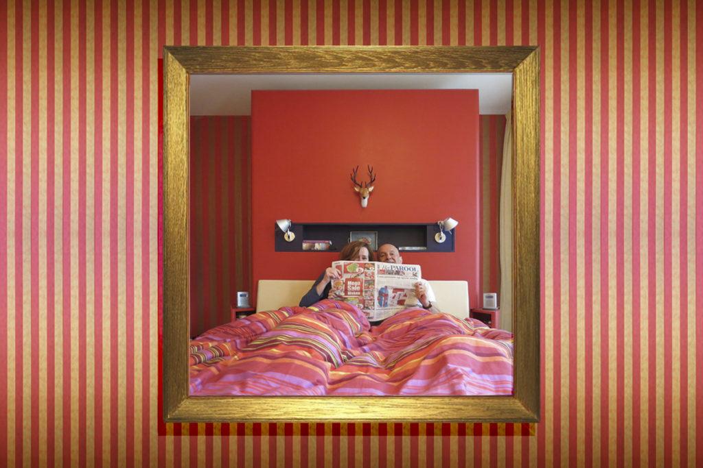 ir. Schelto Doyer Architect | Kleuradvies en Ontwerp Kledingkast Voor Verbouwing Slaapkamer Appartement Amsterdam