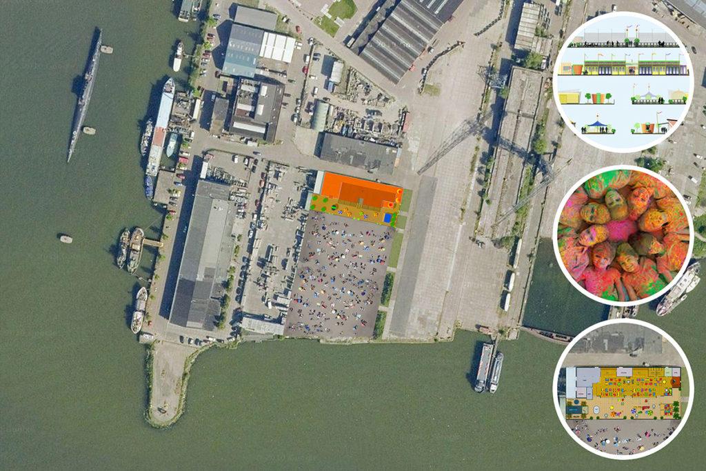 ir. Schelto Doyer Architect | Stadsstrandtent Amsterdam Noord strandtent