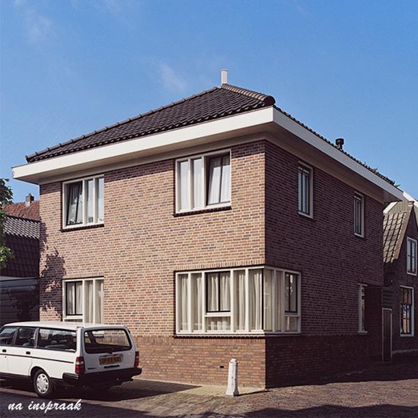 ir. Schelto Doyer Architect | Stadsvernieuwing Door Nieuwbouw Seniorenwoning Edam Centrum