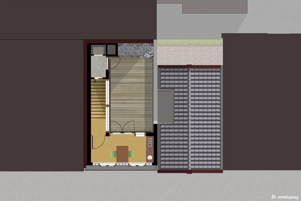 ir. Schelto Doyer Architect | Stadsvernieuwing Door Uitbreiding Woning In Monument Amsterdam Jordaan