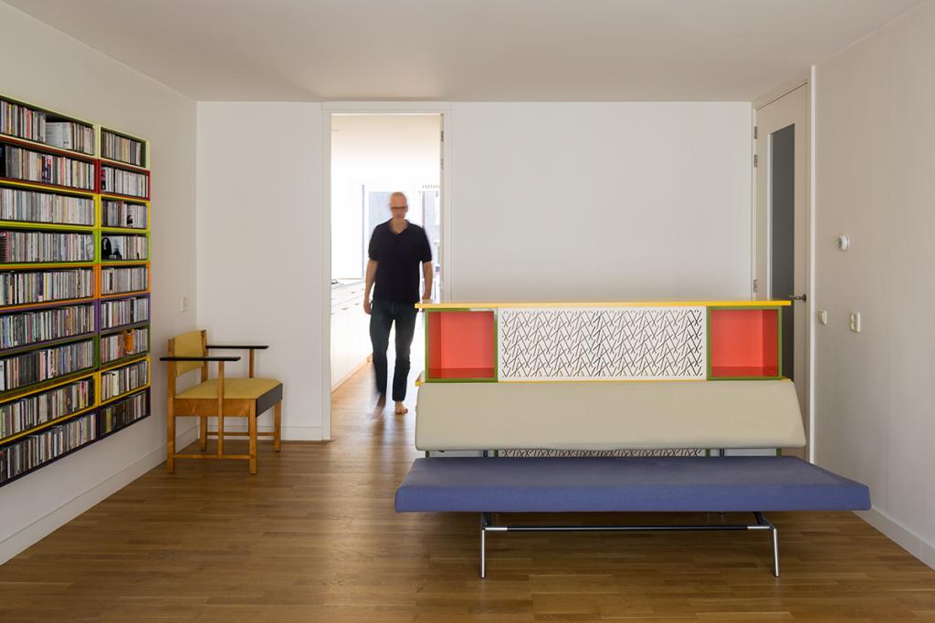 ir. Schelto Doyer Architect | Nieuwbouw Interieur Meubel Ontwerp Boekenkast Amsterdam